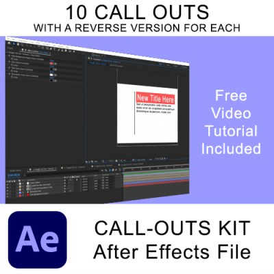 Call Out Kit for After Effects