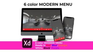 color menu cover