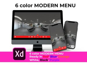 color menu cover