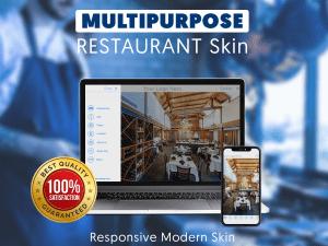 Multipurpose restaurant skin