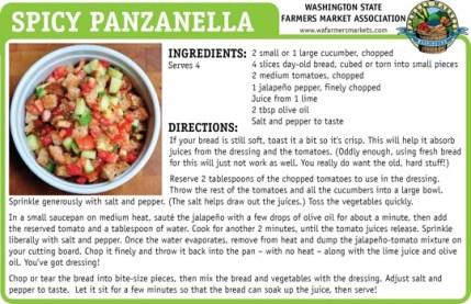 Spicy Panzanella