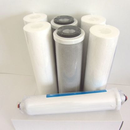 7 filters economy replacement kit for Reverse Osmosis