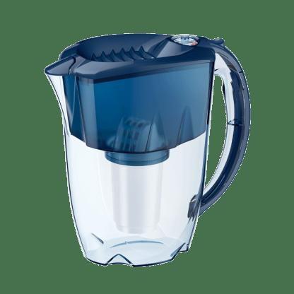 Water pitcher Aquaphor Prestige with A5 cartridge (cobalt blue)