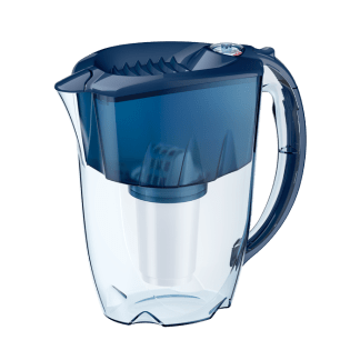 Water pitcher Aquaphor Prestige with A5 cartridge (cobalt blue)
