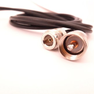 1 Meter N-UHF Cable Adapter with RG58 Coaxial Cable Low Loss 50 ohm
