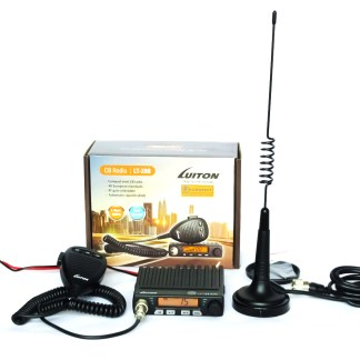 CB radio kit Luiton LT 198 antenna Mag 1345