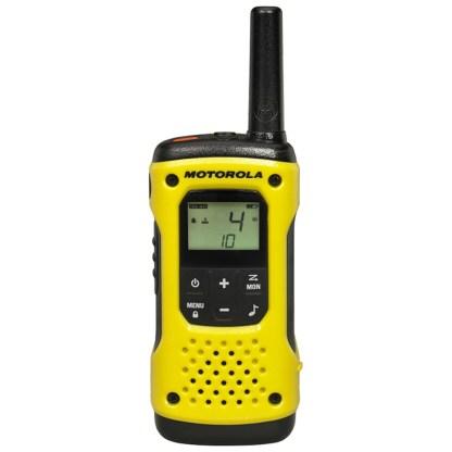 Portable PMR radio station Motorola TLKR T92 H2O IP67 set with 2 pcs Yellow