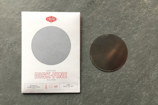 Able Brewing Fine Disk for AeroPress® Coffee Maker