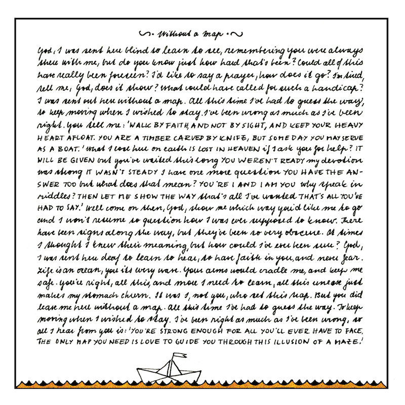 Lyric mary did u know lyrics : Without A Map – Lyrics