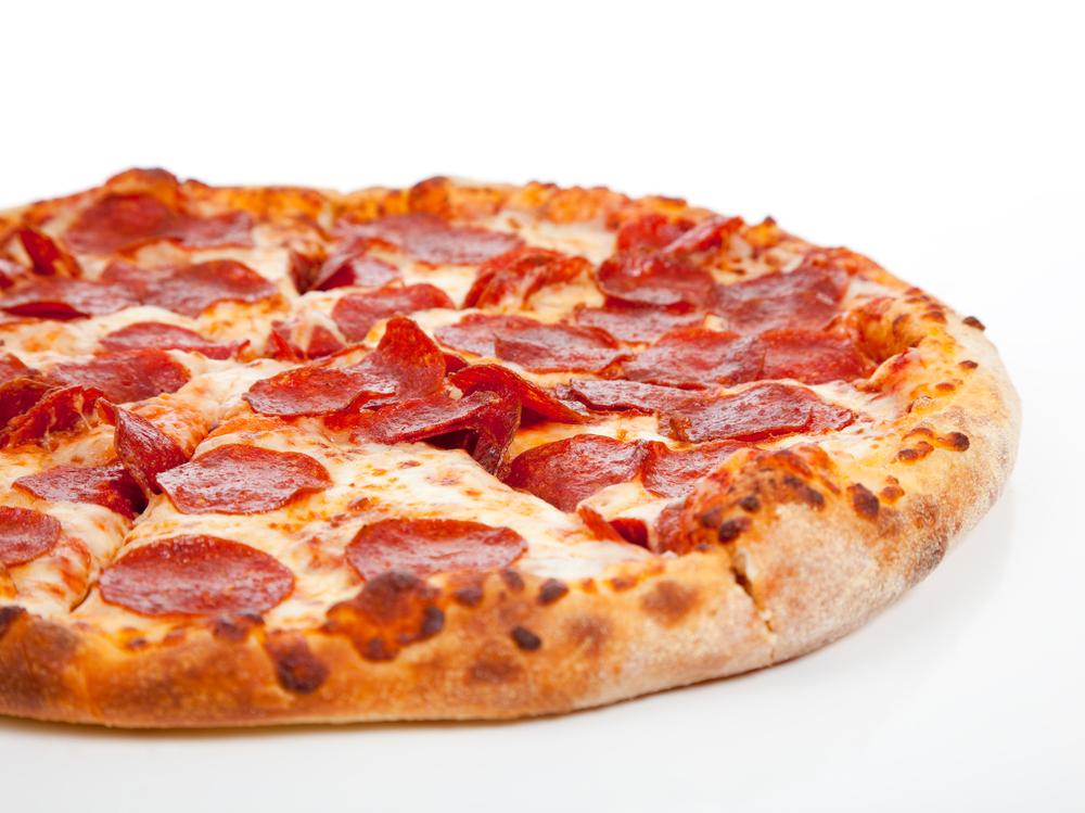Homemade Pepperoni Pizza Market Basket