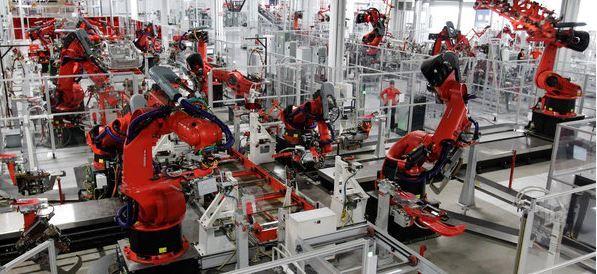 Tesla factory - automation