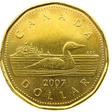 Canadian Dollar 'Loonie'