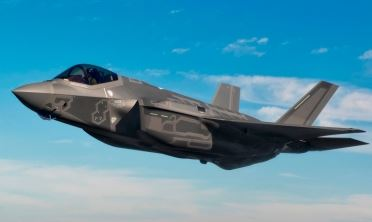 The Lockheed Martin F-35A Lightning II aircraft