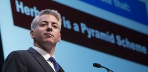 Bill Ackman talking about Herbalife