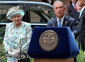 Bloomberg and The Queen