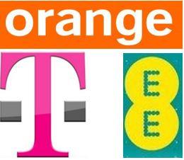 EE Orange T-Mobile