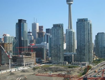 Toronto construction boom