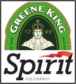 Greene King and Spirit