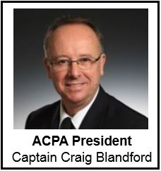 Craig Blandford, President of the Air Canada Pilots Association