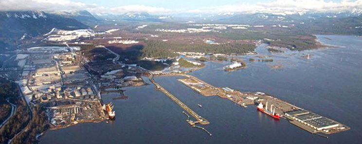 LNG Canada Project, Kitimat