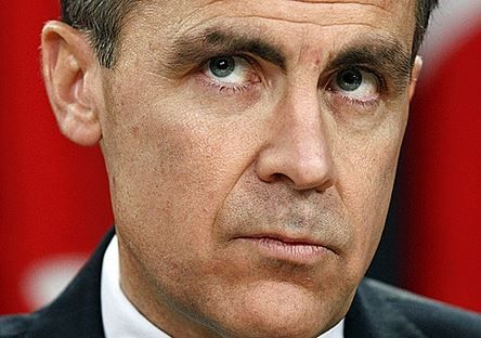 Mark Carney, no more bailouts