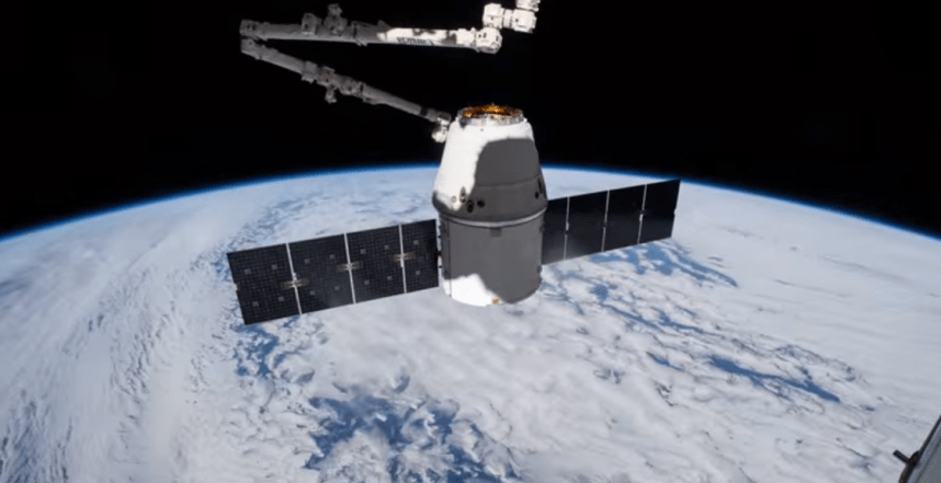 time lapse video of earth from ISS