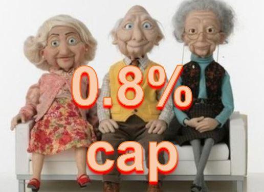 Wonga 0.8% cap