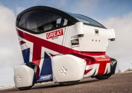 LUTZ Pathfinder UK driverless pod