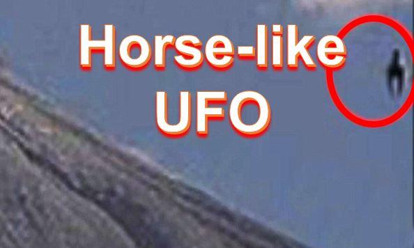 UFO near Colima volcano