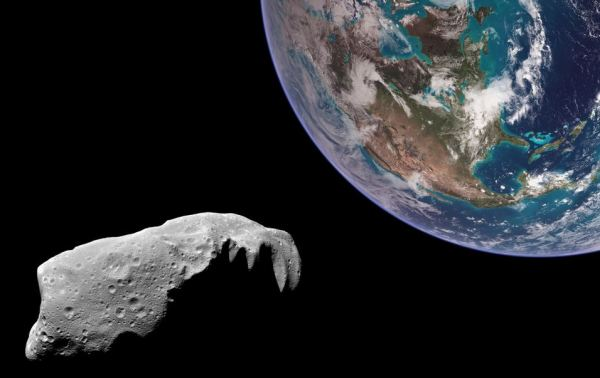 Grab an asteroid boulder, put it into Moon orbit, and ...