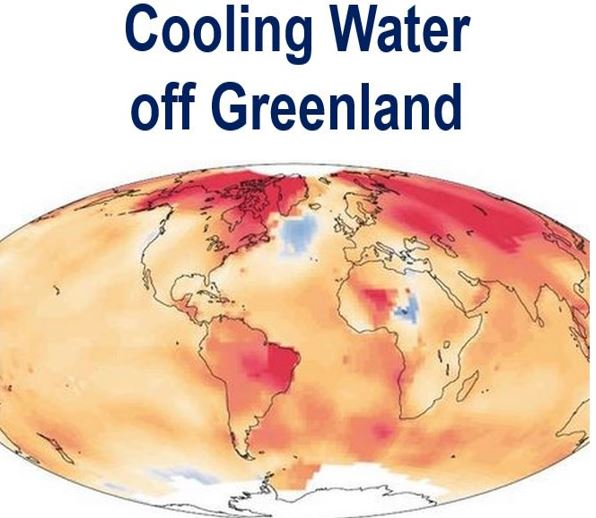 Cooling Greenland waters