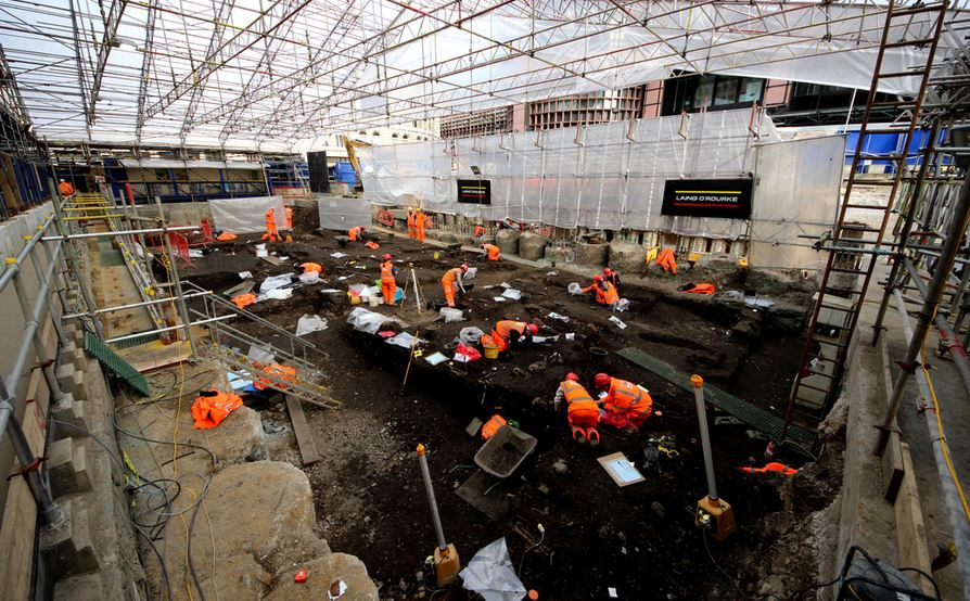 Liverpool Street excavations