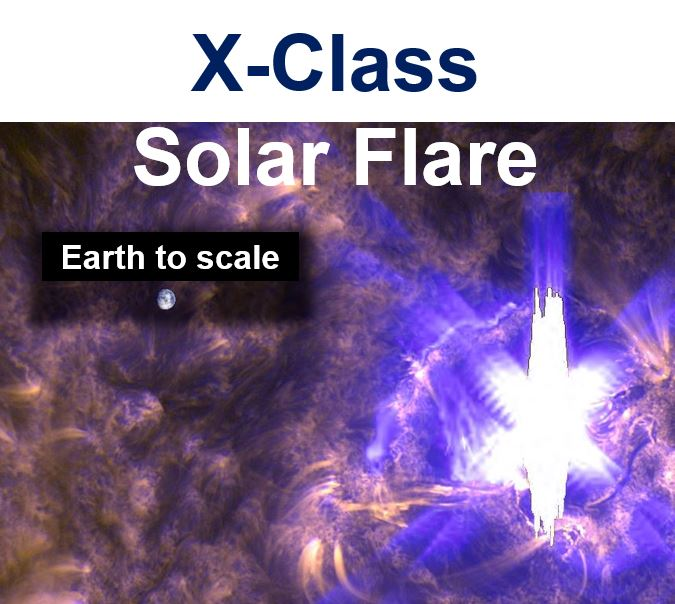 X class solar flare