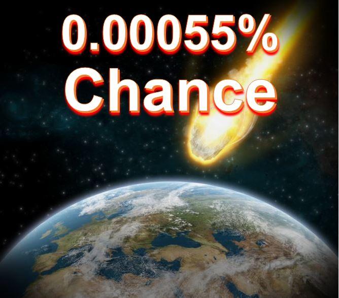 Asteroid near Earth