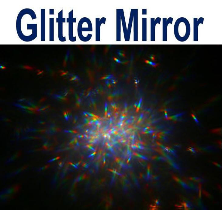 Glitter Mirror