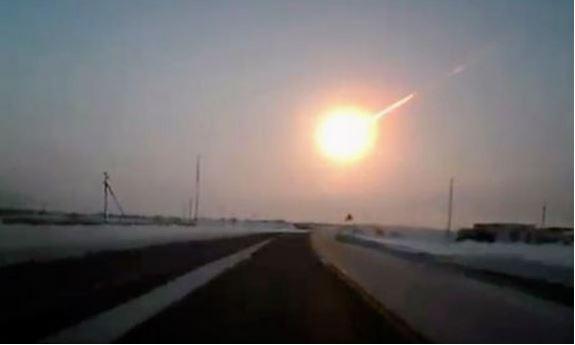 Meteor over Chelyabinsk