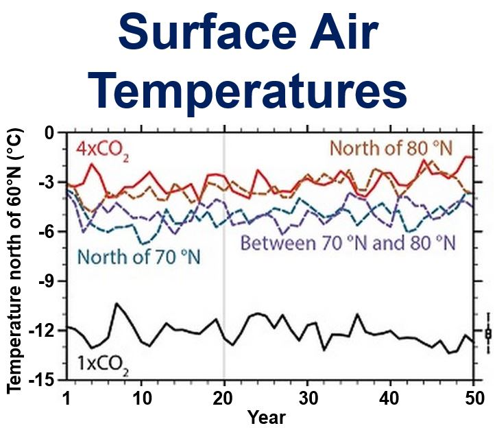 Surface Air Temperatures