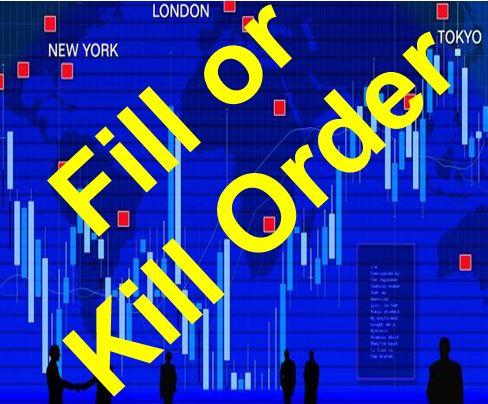 Fill or Kill Order