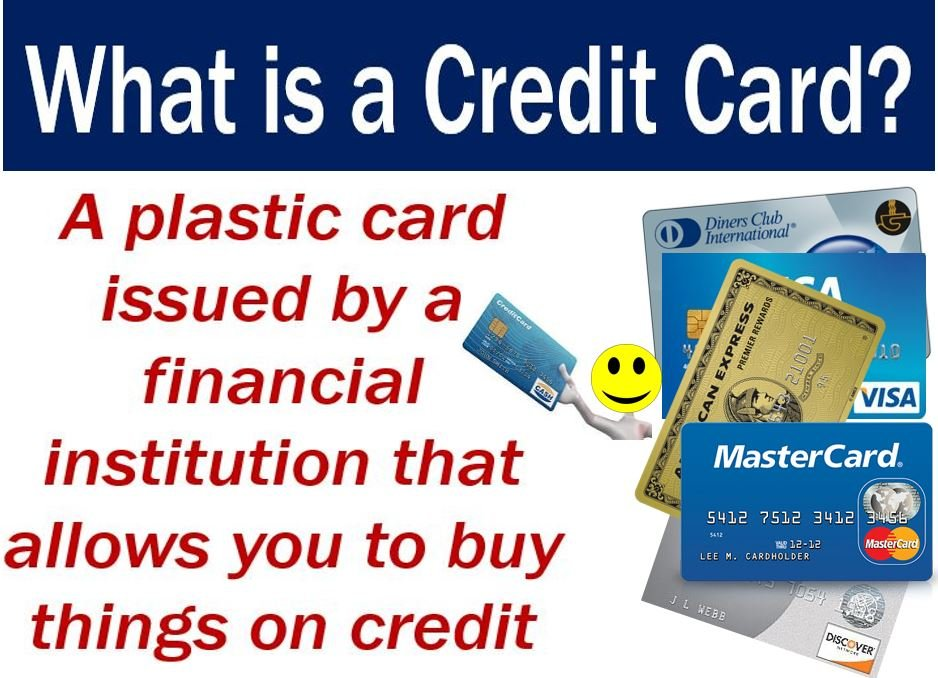 What is a credit card? How do they work? - Market Business News