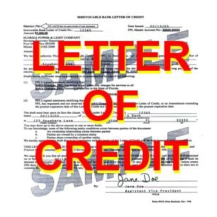 Letter of credit thumbnail