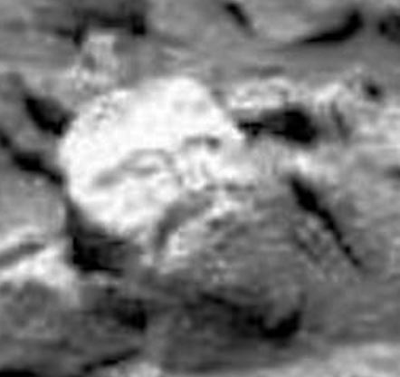 Mars rock crazy image
