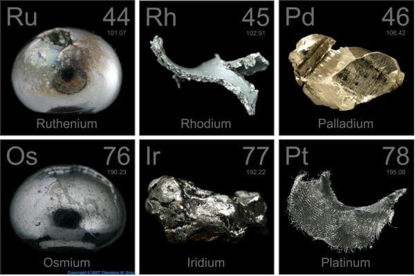 Metals in space