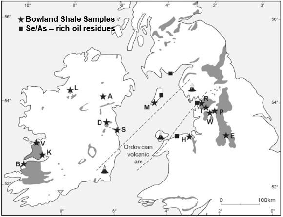 Bowland Shale samples