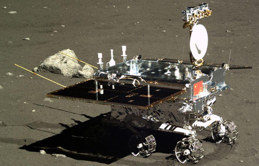 Chinese moon rover Yutu