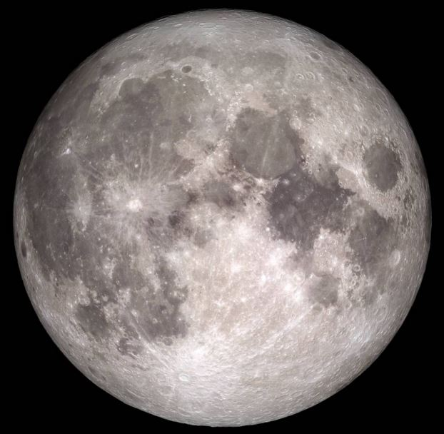 Christmas Full Moon according to NASA