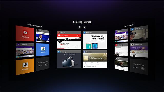 Samsung-VR-browser