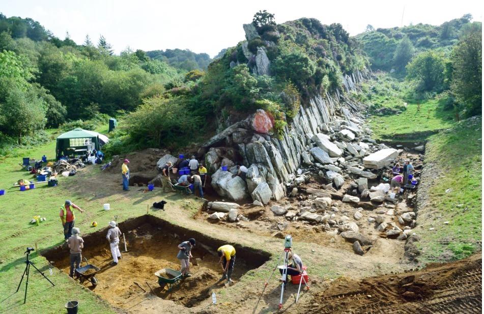Stonehenge bluestones quarry