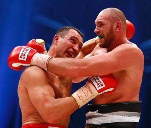 Tyson Fury versus Wladimir Klitschko
