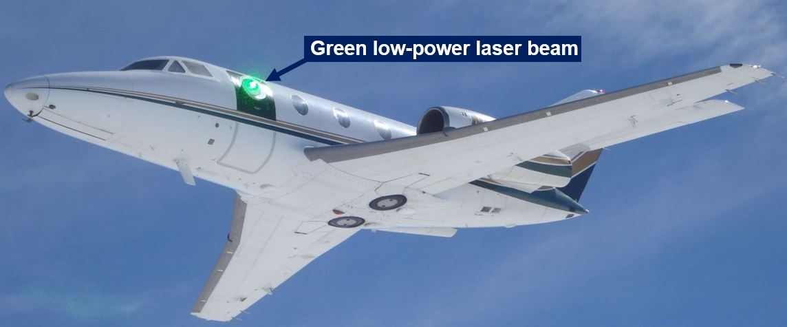 laser guns being tested for fighter jets
