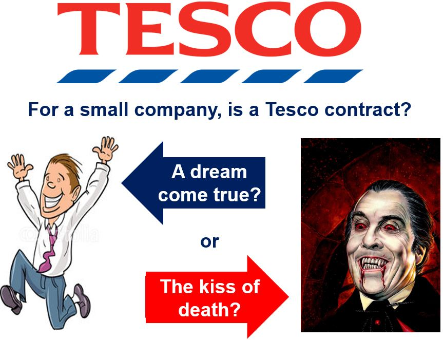 A Tesco contract a dream come true or the kiss of death
